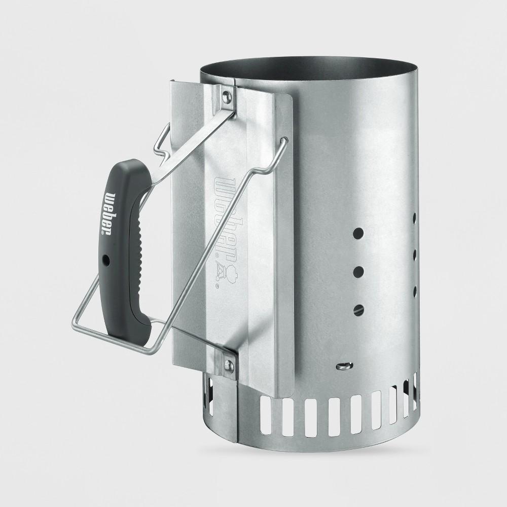 Weber Rapidfire Chimney Starter, Silver 47899775