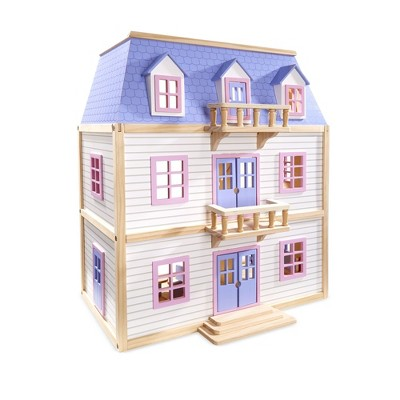 Melissa & Doug Multi-Level Dollhouse