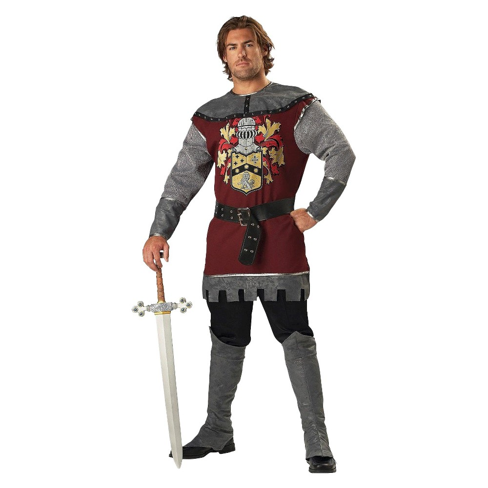 Image of Halloween Men's Noble Knight Costume Large