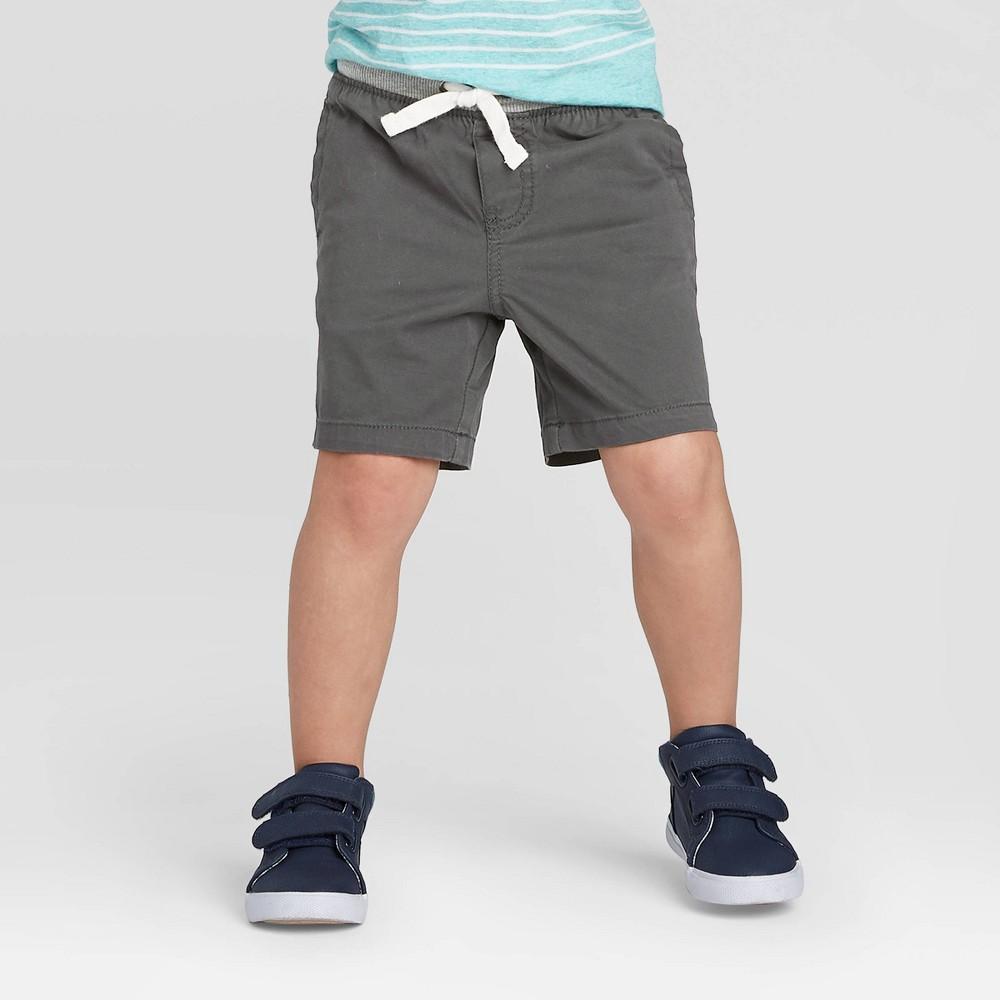 Toddler Boys 39 Chino Shorts Cat 38 Jack 8482 Charcoal 18m