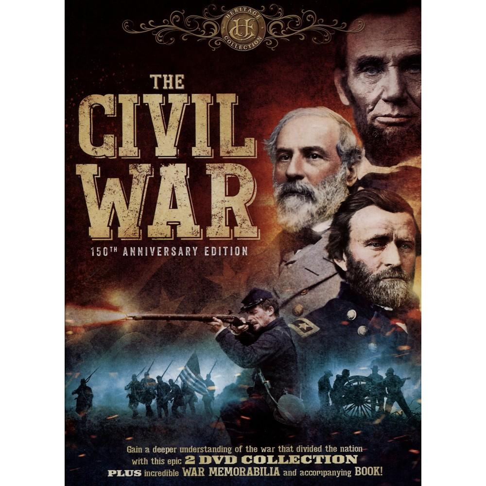 The Civil War: 150th Anniversary Edition [2 Discs] [Includes Book and Memorabilia]