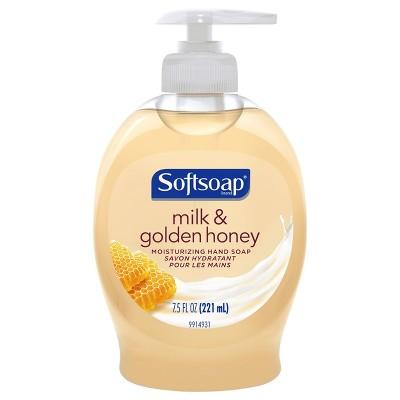 Hand Soap: Softsoap Milk & Golden Honey