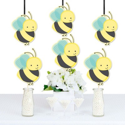 Big Dot of Happiness Honey Bee - Decorations DIY Baby Shower or Birthday Party Essentials - Set of 20
