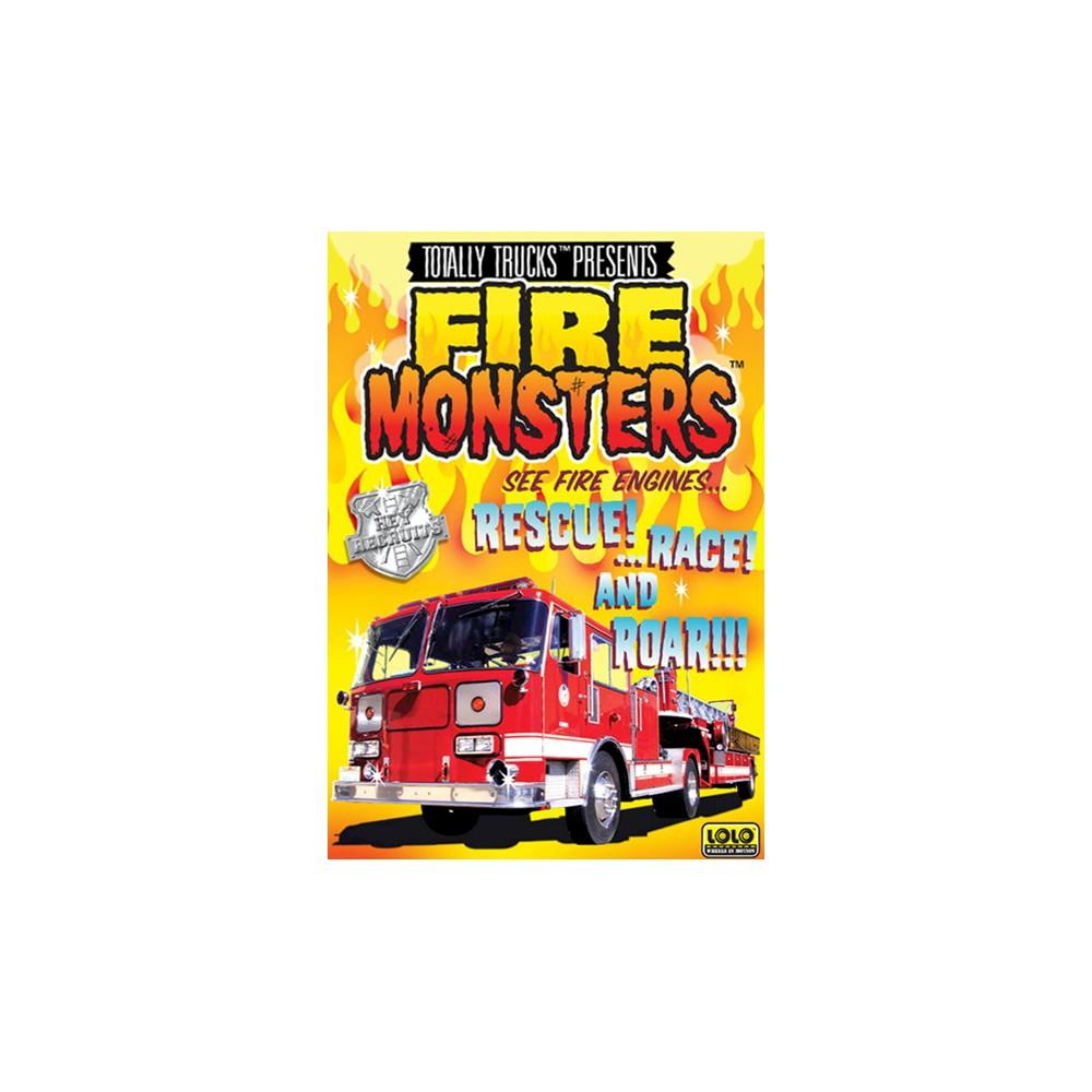 Totally Trucks:Fire Monsters (Dvd)