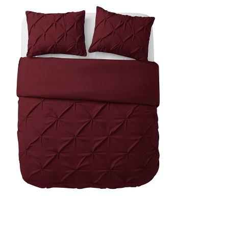 Burgundy Nilda Duvet Cover Set Queen Vcny Home Target