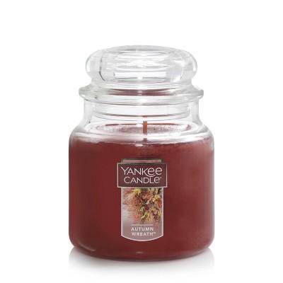 14.5oz Glass Jar Autumn Wreath Candle - Yankee Candle