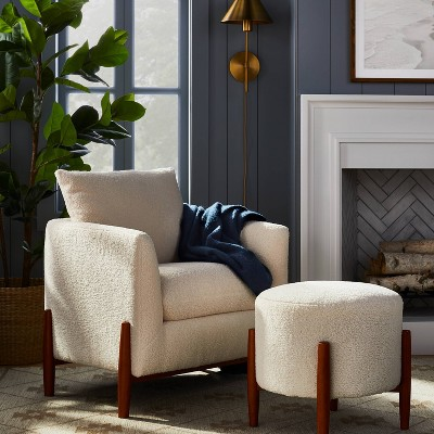 Elroy Sherpa Seating Collection - Threshold™ Designed With Studio McGee : Target