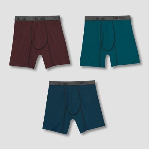 10413cbef849 Hanes Men's Comfort Flex Fit Cotton Modal Boxer Briefs 3pk : Target