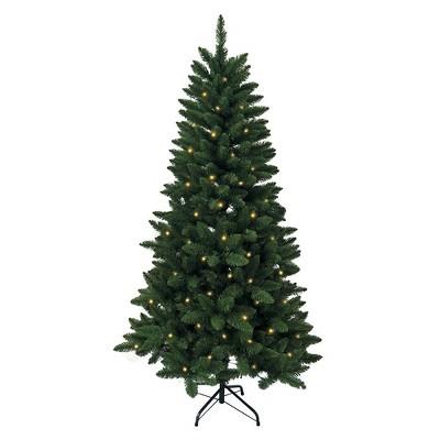 Kurt Adler 6' Pre-Lit Green Pine Tree