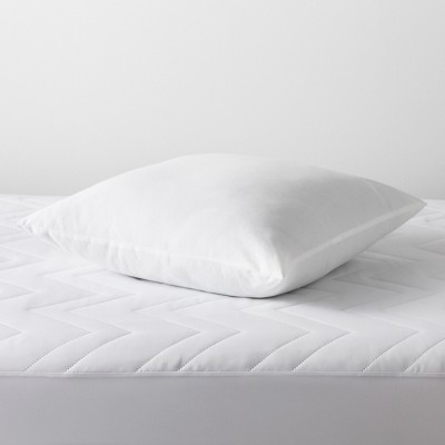 Euro Won't Go Flat Bed Pillow White - Made By Design™