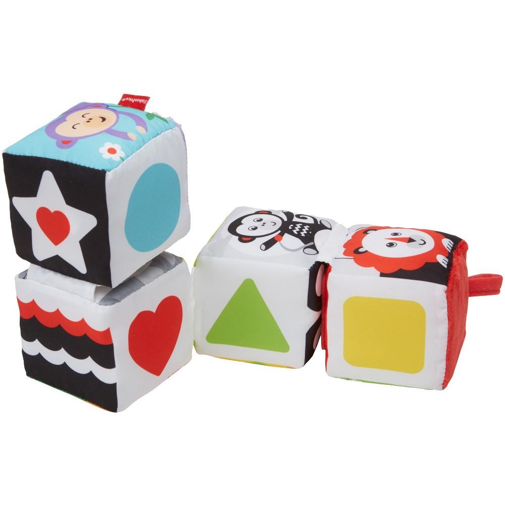 Image of Fisher-Price Fun to Flip Soft Blocks