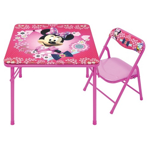 Disney Minnie Junior Table Chair Set
