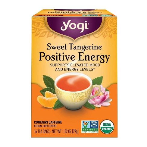 Yogi Tea - Sweet Tangerine Positive Energy Tea - 16ct - image 1 of 4