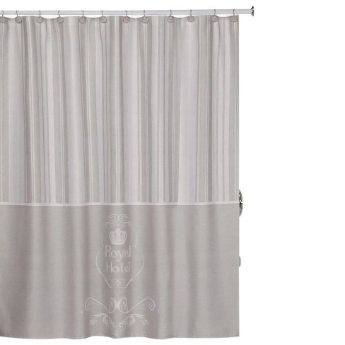 Royal Hotel Shower Curtain Taupe
