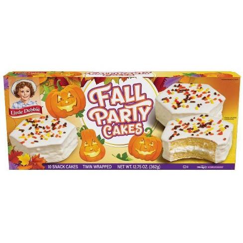 Little Debbie Fall Party Vanilla - 12.75oz - image 1 of 1