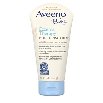 Aveeno Baby Eczema Therapy Moisturizing Cream - 5-oz