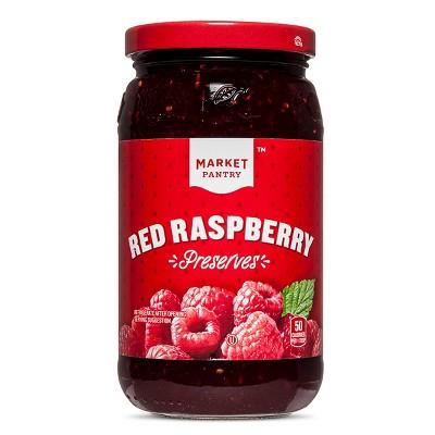 Red Raspberry Preserves - 18oz - Market Pantry™
