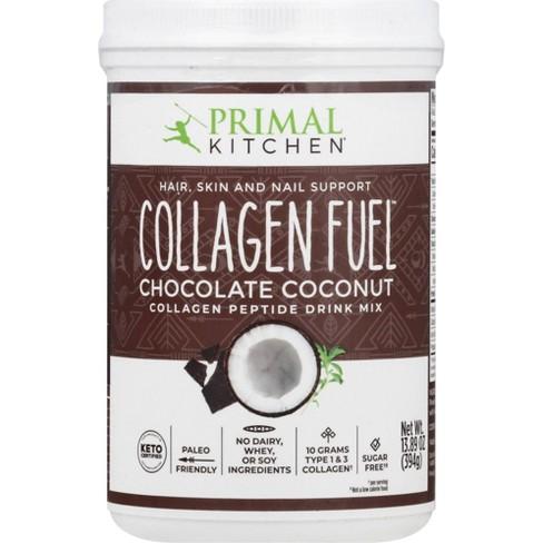 Primal Kitchen Collagen Fuel Supplement Powder - Chocolate Coconut - 13.1oz - image 1 of 3