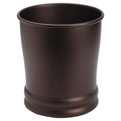 Olivia 9  Wastebasket Bronze - InterDesign®