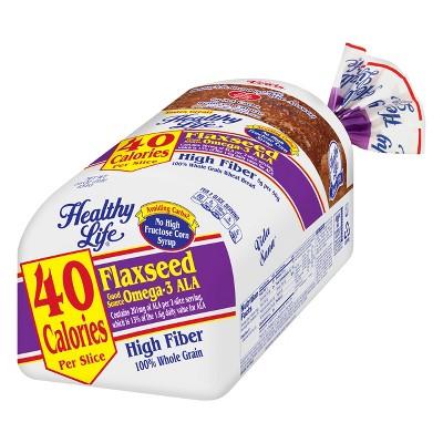 Health Life Flaxseed Bread - 16oz