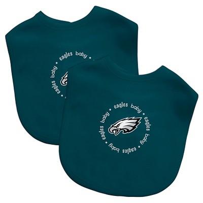 Philadelphia Eagles Baby Fanatic Bibs - 2 Pack