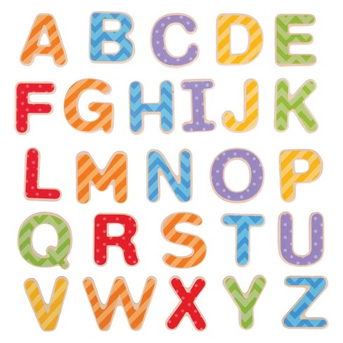 Bigjigs Toys Magnetic Letters - Uppercase - image 1 of 2