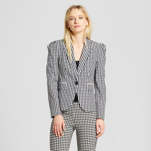 Women's Silky Blazer - Who What Wear™ - image 1 of 3