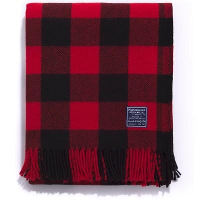 """50""""x72"""" Buffalo Check Throw Blanket - Faribault Woolen Mill"""