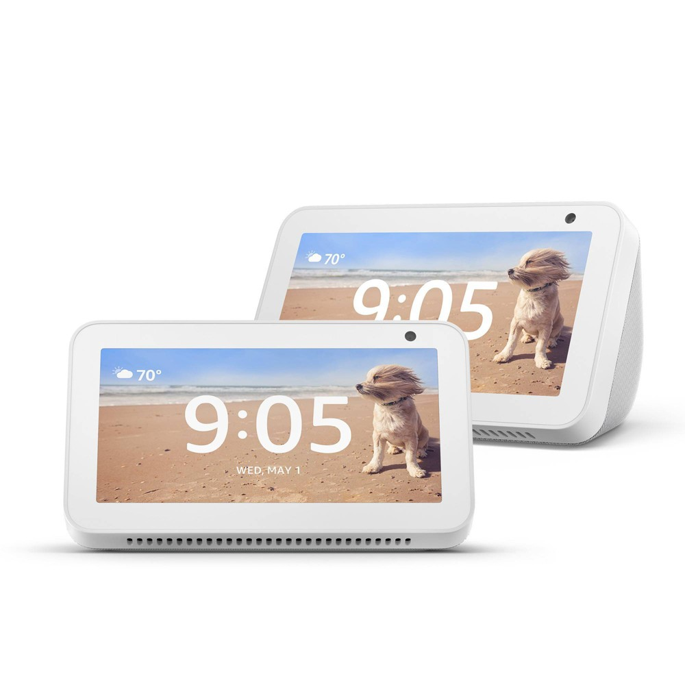 Amazon Echo Show 5 Sandstone - 2 Pack was $179.99 now $119.99 (33.0% off)