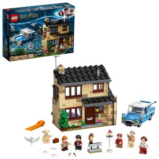 LEGO Harry Potter 4 Privet Drive Collectible Playset for Kids 75968