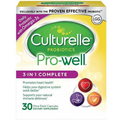 Probiotics: Culturelle Pro-Well 3-in-1 Complete