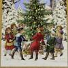 "Christmas 13.75"" Dancing Around The Tree Advent Calendar Germany  -  Advent Calendar - image 3 of 3"