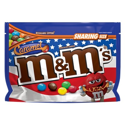 M&M's Caramel Chocolate Candies Sharing Size - 9.6oz
