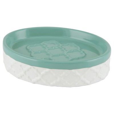 Watery Floral Soap Dish White - Allure®