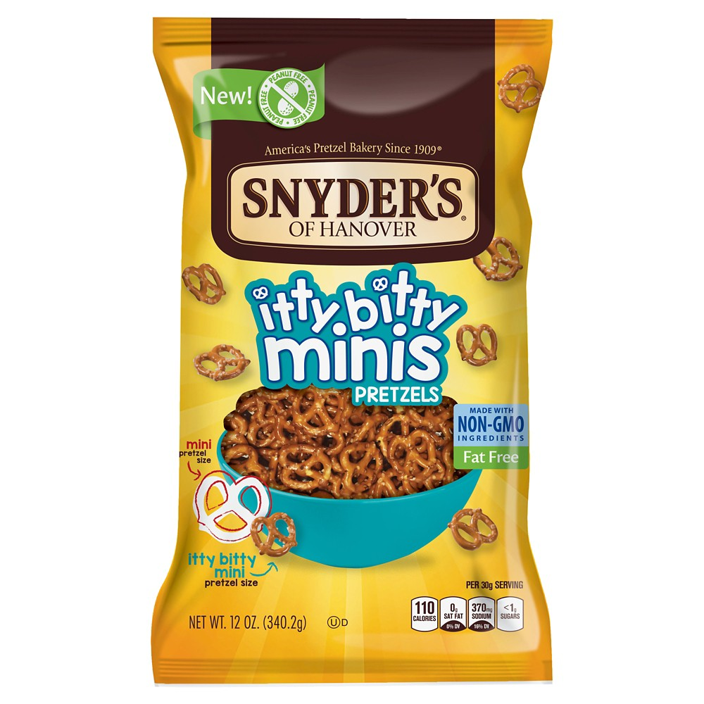 Snyder's Of Hanover Itty Bitty Minis - 12oz