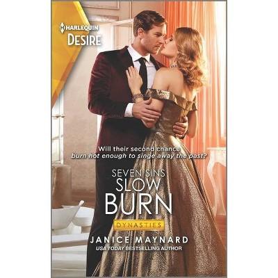 Slow Burn - (Dynasties: Seven Sins) by  Janice Maynard (Paperback)