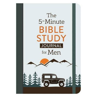The 5-Minute Bible Study Journal for Men - by  David Sanford (Paperback)