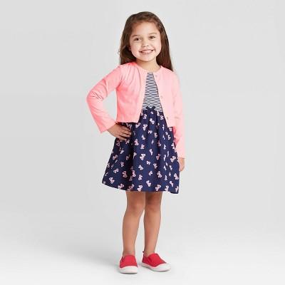 Pink Carters Toddler Cardigan 2t