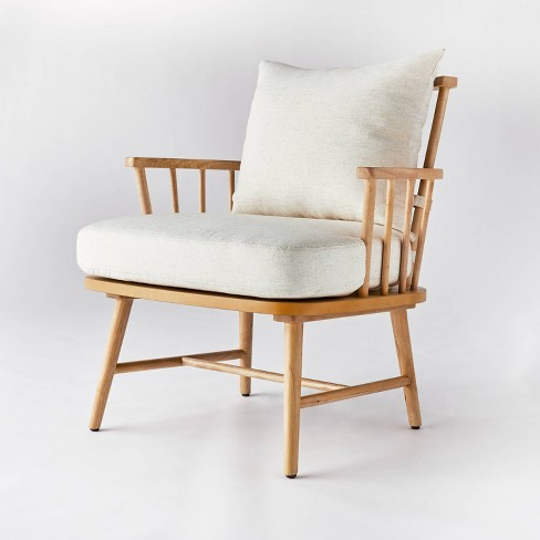 Taylorsville Spindle Accent Chair - Threshold™ designed with Studio McGee - image 1 of 4