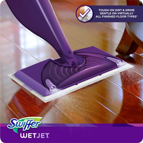 Swiffer Wet Jet Hardwood Floor Spray Mop Starter Kit Target