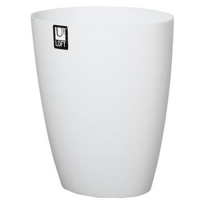 Bathroom Wastebasket Frost Umbra Loft