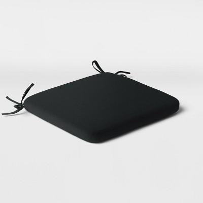 Outdoor Seat Cushion Black - Room Essentials™