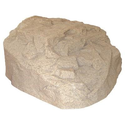 "Emsco 32.5"" Resin Boulder River Rock Statuary"