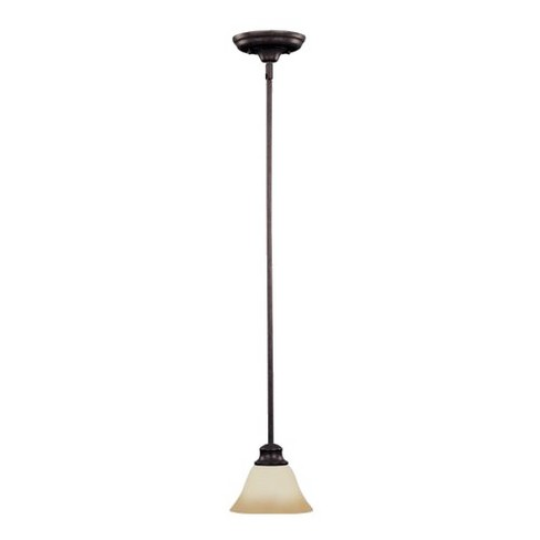 Pacific 1-Bulb Pendant with Wilshire Glass - Kentucky Bronze - image 1 of 1