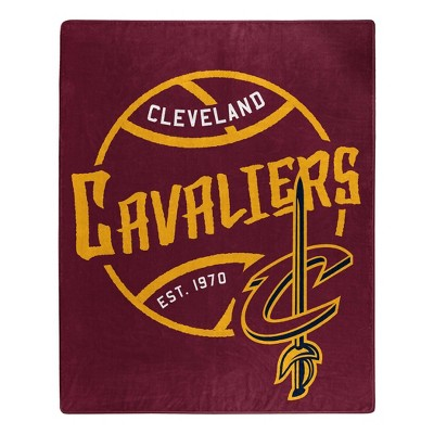 NBA Cleveland Cavaliers Throw Blanket