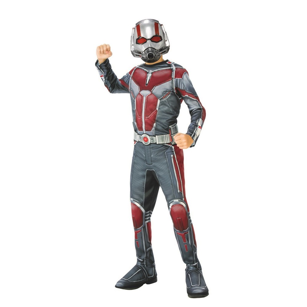 Kids' Marvel Ant-Man & The Wasp Ant-Man Halloween Costume S, Multicolored
