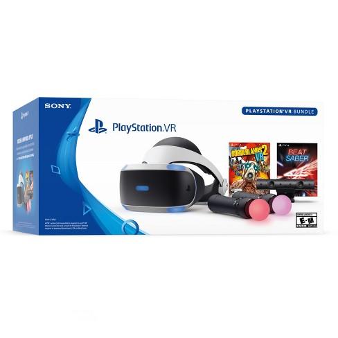Sony Playstation Vr Bundle With Borderlands 2 Vr Beat Saber Target