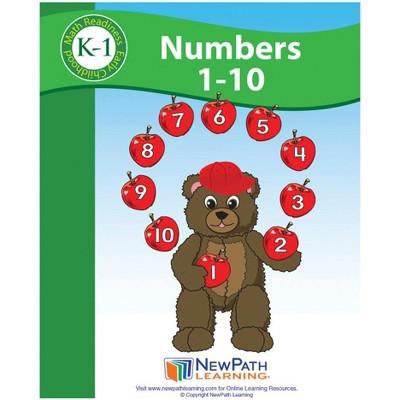 NewPath Learning Numbers 1 to 10 Student Activity Guide, Grade K to 1