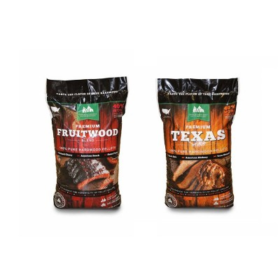 Green Mountain Grills Premium Texas & Fruitwood Hardwood Grill Cooking Pellets