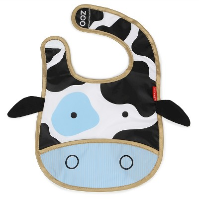 Skip Hop Zoo tuck-away Bib - Cow